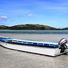 Blue Boat by Jessica Fittock