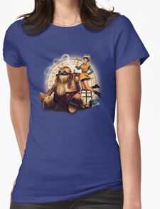 Lucca & Robo Womens Fitted T-Shirt