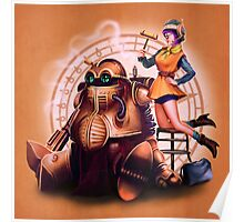 Lucca & Robo Poster