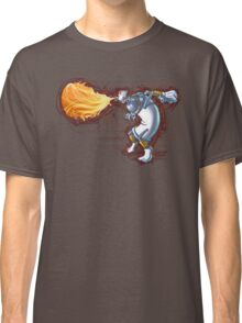 Street Art Fighter 2- Yoga Paint! Classic T-Shirt