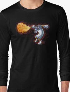 Street Art Fighter 2- Yoga Paint! Long Sleeve T-Shirt