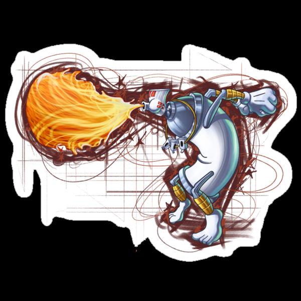 Street Art Fighter 2- Yoga Paint! by odysseyroc