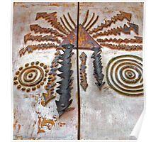 Pueblo Door Knobs Poster