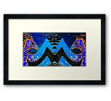 Eeb Colony 2 Framed Print