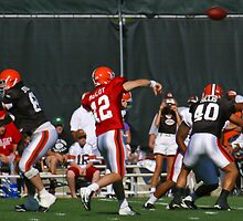 Colt McCoy airs it out by Henry Plumley