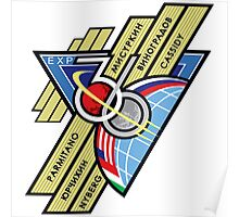 Expedition 36 Mission Patch Poster