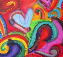 Mixed Media Love by Tricia Anne Michael