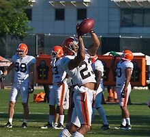 Joe Haden #23 DB Catching Drills  by Henry Plumley