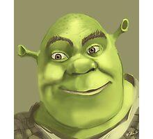 Shrek Photographic Print