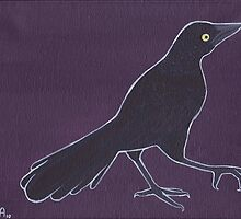 Grackle by amselouzel
