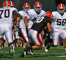 Peyton Hillis Breaks Through  by Henry Plumley