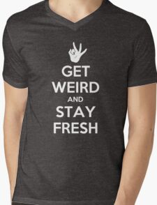 Stay Fresh Mens V-Neck T-Shirt
