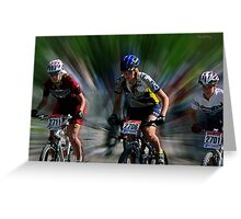 Quebec Cup Cycling Greeting Card