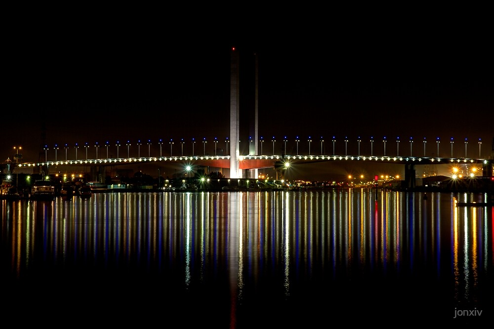 """Bolte Bridge"" - Melbourne by jonxiv"