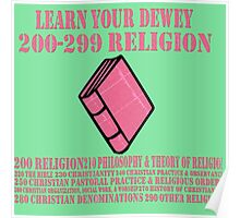 Learn your Dewey 200 Poster