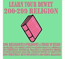 Learn your Dewey 200 Photographic Print