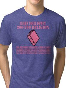 Learn your Dewey 200 Tri-blend T-Shirt