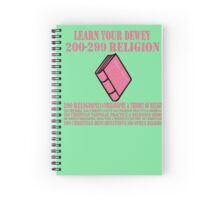Learn your Dewey 200 Spiral Notebook