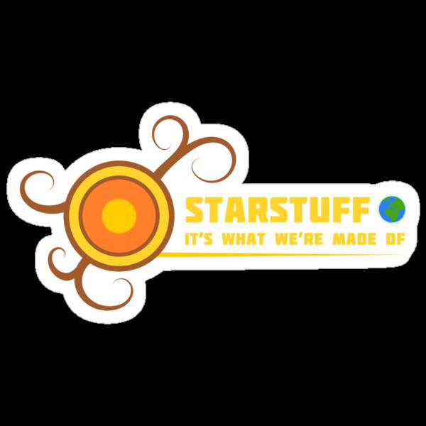 Star Stuff T-shirt by MuddyDesigns