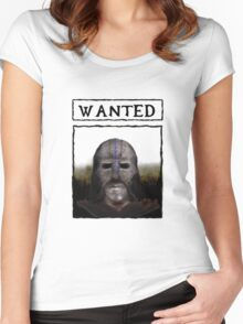 Wanted: The Gray Fox Women's Fitted Scoop T-Shirt