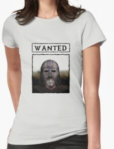 Wanted: The Gray Fox Womens Fitted T-Shirt