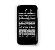 The Wizards Rules Samsung Galaxy Case/Skin