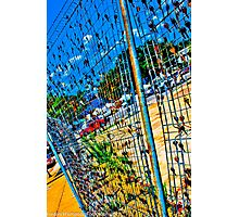 Key Fence, Downtown Wilmington Photographic Print