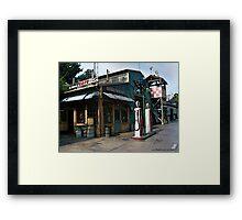 Fly N Buy Cafe Framed Print