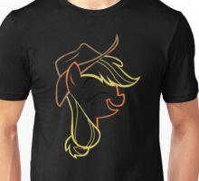 AppleJack: Happy Outline Unisex T-Shirt
