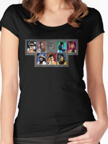 Mortal Kombat Character Select Women's Fitted Scoop T-Shirt