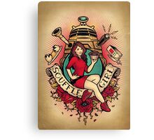 Souffle Girl Canvas Print