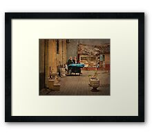 Time for a Chat Framed Print
