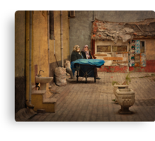 Time for a Chat Canvas Print