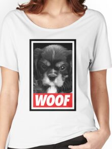 Woof Women's Relaxed Fit T-Shirt