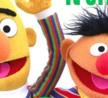 Bert & Ernie - Just Married Sticker