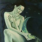 """Aquarius""…from ""Zodiac signs"" series by dorina costras"