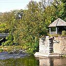 Gazebo at Watson's Mill , Manotick, ON, Canada by Shulie1