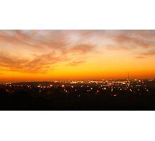 Sunset In Johanesburg  Photographic Print