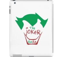 The Joker - HAHA iPad Case/Skin