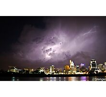 Electric Sky Photographic Print
