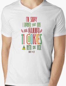 Buddy the Elf - 11 Cookies Mens V-Neck T-Shirt