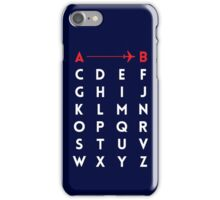 A to B (v2) iPhone Case/Skin