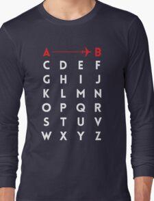 A to B (v2) Long Sleeve T-Shirt