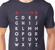 A to B (v2) Unisex T-Shirt