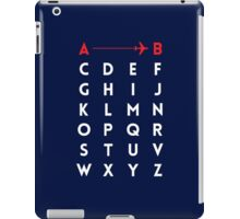 A to B (v2) iPad Case/Skin
