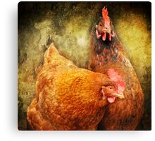Urban Chicks ~ Canvas Print
