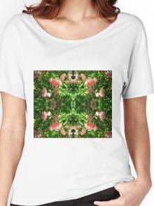 Foaming Pink Blossoms Duvet Women's Relaxed Fit T-Shirt