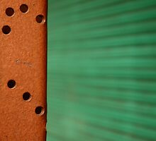 Urban Abstract: Green by rosiephoto