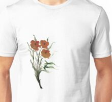 Eloquent Bloom - Floral Unisex T-Shirt