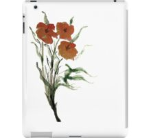 Eloquent Bloom - Floral iPad Case/Skin